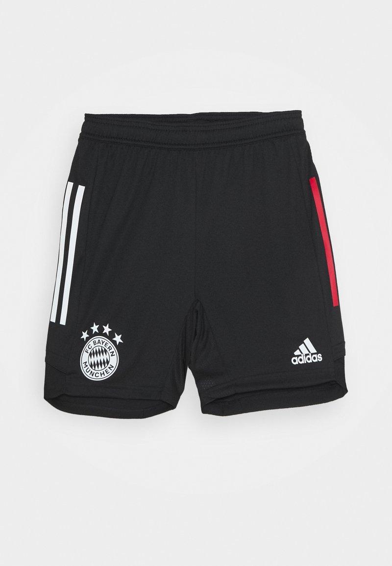 adidas Performance - FC BAYERN MÜNCHEN TEAMLINE - Sportovní kraťasy - black/fcbtru