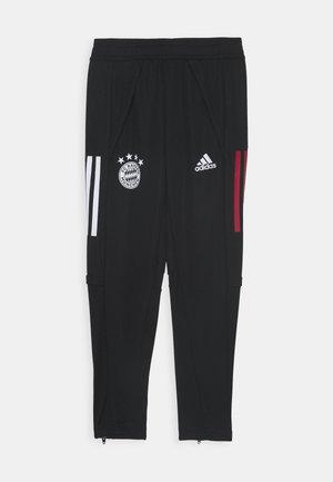 FC BAYERN MUENCHEN AEROREADY FOOTBALL PANTS - Klubové oblečení - black/red