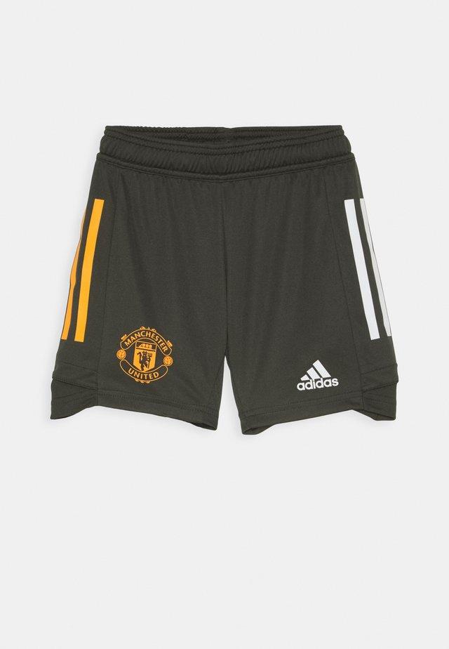 MANCHESTER UNITED SPORTS FOOTBALL - Sports shorts - olive
