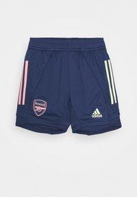 adidas Performance - AFC - Sportovní kraťasy - tech indigo - 0