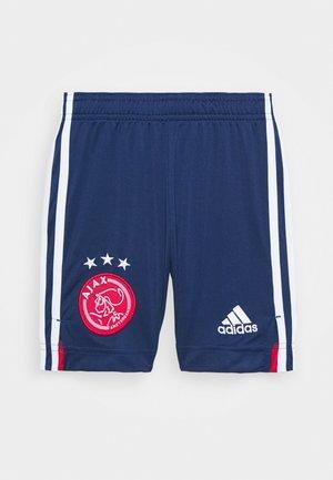 AJAX AMSTERDAM SPORTS FOOTBALL SHORTS - Sportovní kraťasy - blue