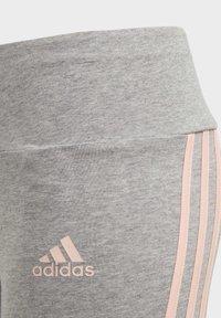 adidas Performance - STRIPES COTTON LEGGINGS - Collants - grey - 2
