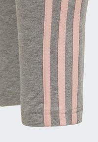adidas Performance - STRIPES COTTON LEGGINGS - Collants - grey - 4