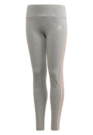 STRIPES COTTON LEGGINGS - Legging - grey