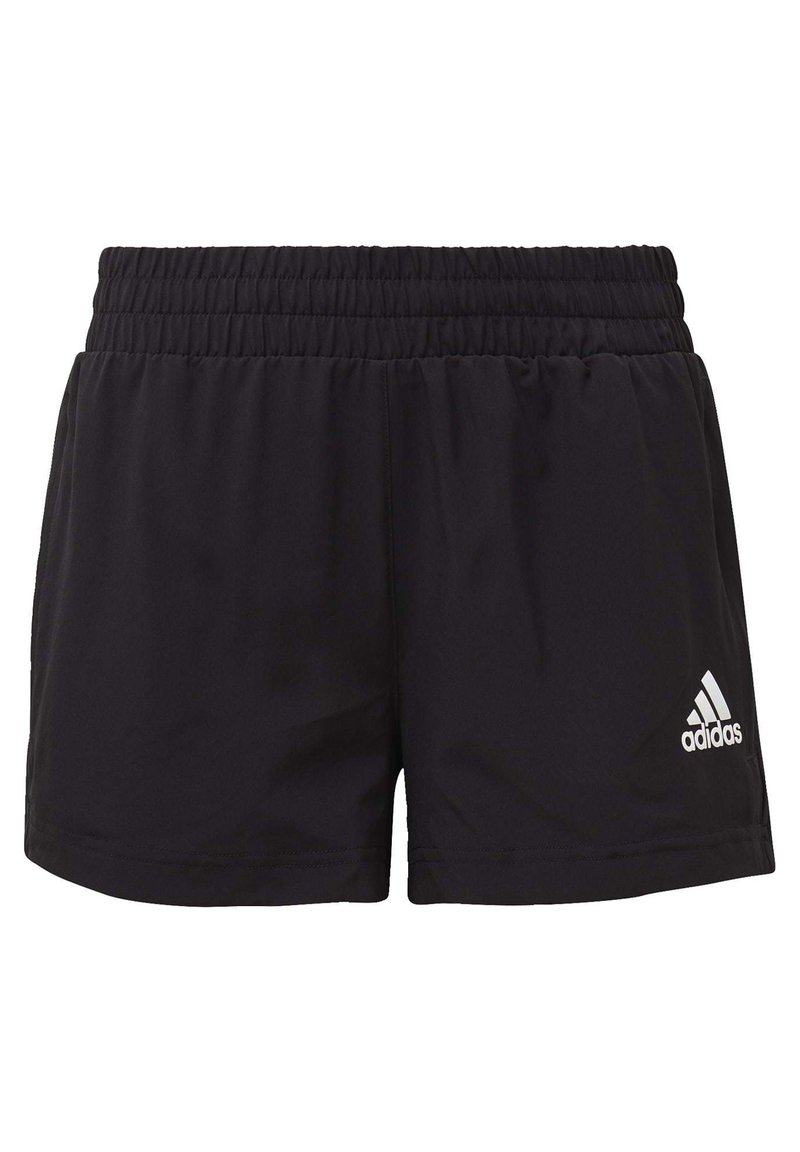 adidas Performance - AEROREADY WOVEN SHORTS - Korte broeken - black