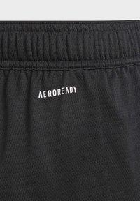 adidas Performance - AEROREADY SHORTS - Korte broeken - black - 2