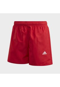 adidas Performance - CLASSIC BADGE OF SPORT SWIM SHORTS - Uimashortsit - red - 2