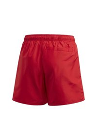 adidas Performance - CLASSIC BADGE OF SPORT SWIM SHORTS - Uimashortsit - red - 1