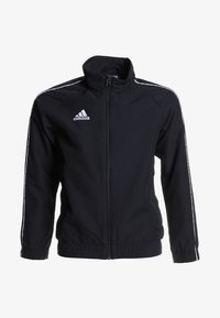 adidas Performance - CORE PRE - Treningsjakke - black/white - 0