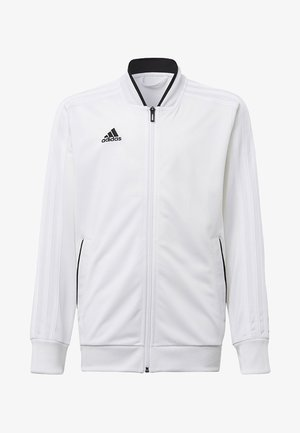 CONDIVO 18 TRACK TOP - Veste de survêtement - white/black