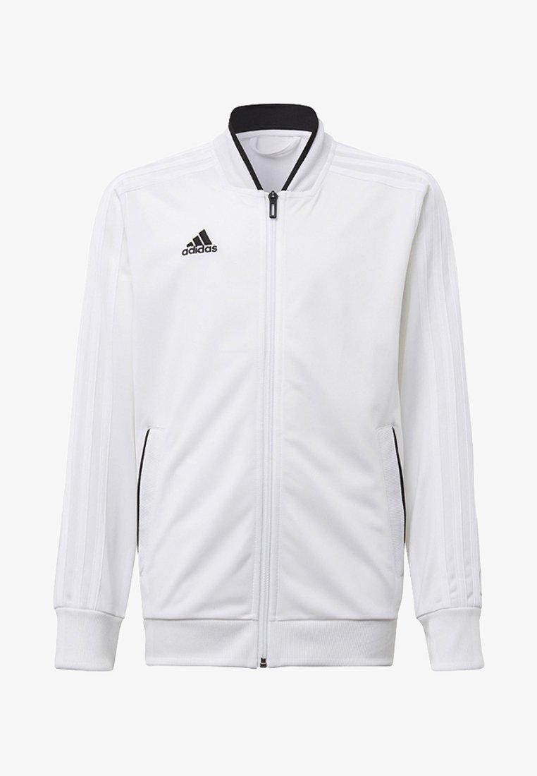 adidas Performance - CONDIVO 18 TRACK TOP - Training jacket - white/black