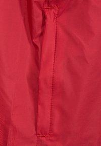 adidas Performance - CORE 18 RAIN JACKET - Träningsjacka - red/white - 2