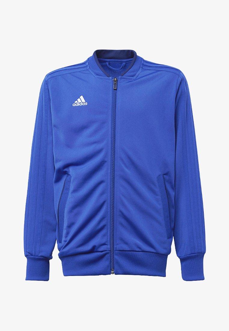 adidas Performance - CONDIVO 18 TRACK TOP - Veste de survêtement - bold blue/dark blue7white