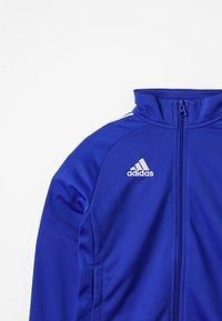 adidas Performance - CORE18 - Training jacket - bold blue/white - 3