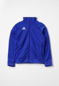 adidas Performance - CORE ELEVEN FOOTBALL TRACKSUIT JACKET - Sportovní bunda - bold blue/white - 0