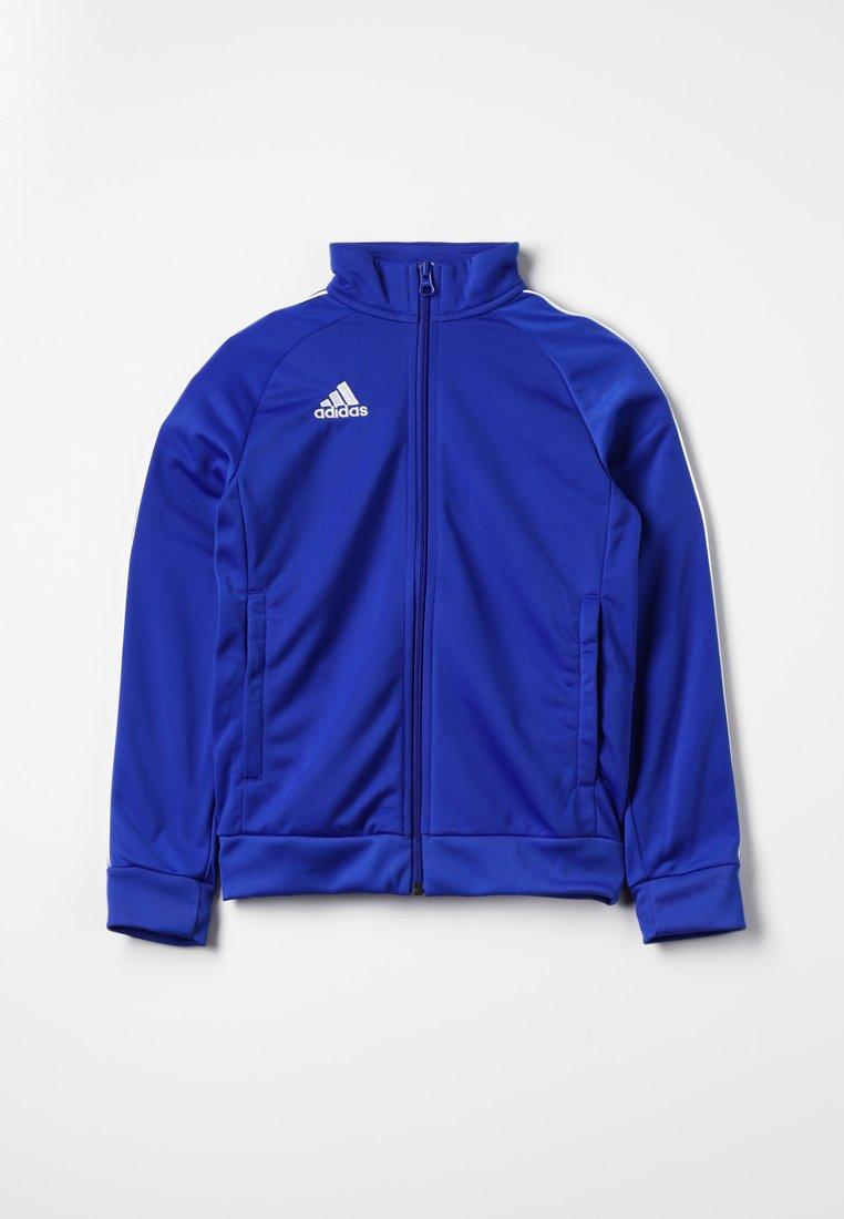 adidas Performance - CORE ELEVEN FOOTBALL TRACKSUIT JACKET - Sportovní bunda - bold blue/white