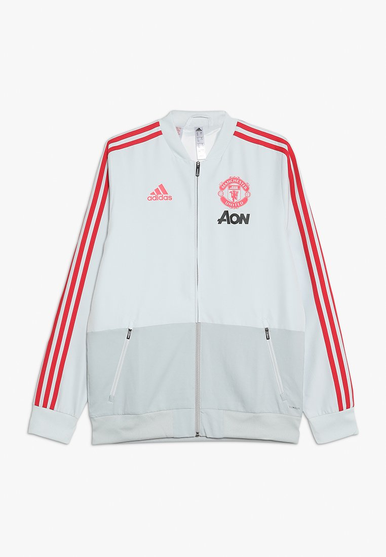 adidas Performance - MANCHESTER UNITED FC PRE  - Fanartikel - clear grey/blaze red