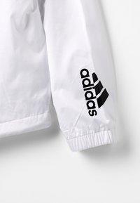 adidas Performance - WIND - Veste de survêtement - white/black - 5
