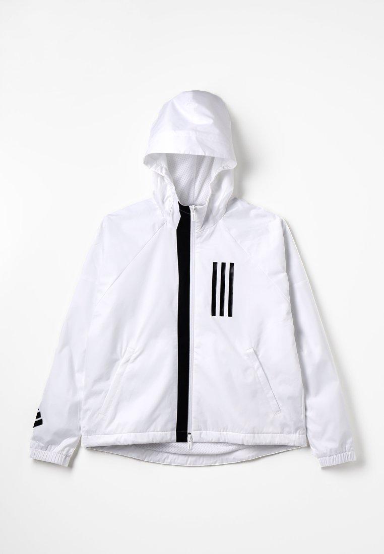 adidas Performance - WIND - Veste de survêtement - white/black