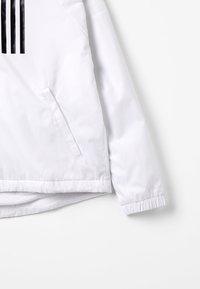 adidas Performance - WIND - Veste de survêtement - white/black - 3