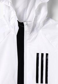 adidas Performance - WIND - Veste de survêtement - white/black - 2