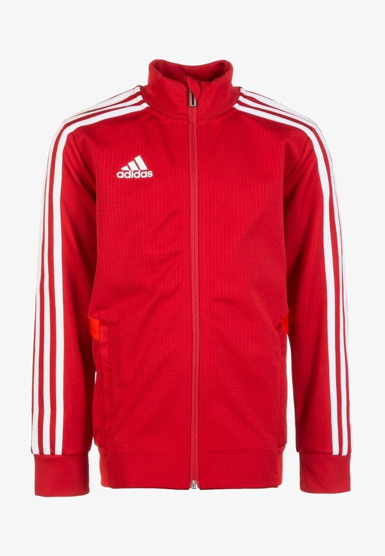 adidas Performance - TIRO 19 TRAINING TRACK TOP - Training jacket -  red / white