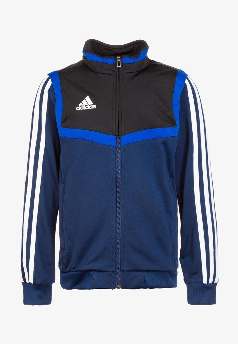 adidas Performance - TIRO 19 POLYESTER TRACK TOP - Trainingsvest - dark blue / white