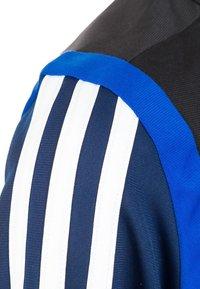 adidas Performance - TIRO 19 POLYESTER TRACK TOP - Trainingsvest - dark blue / white - 3