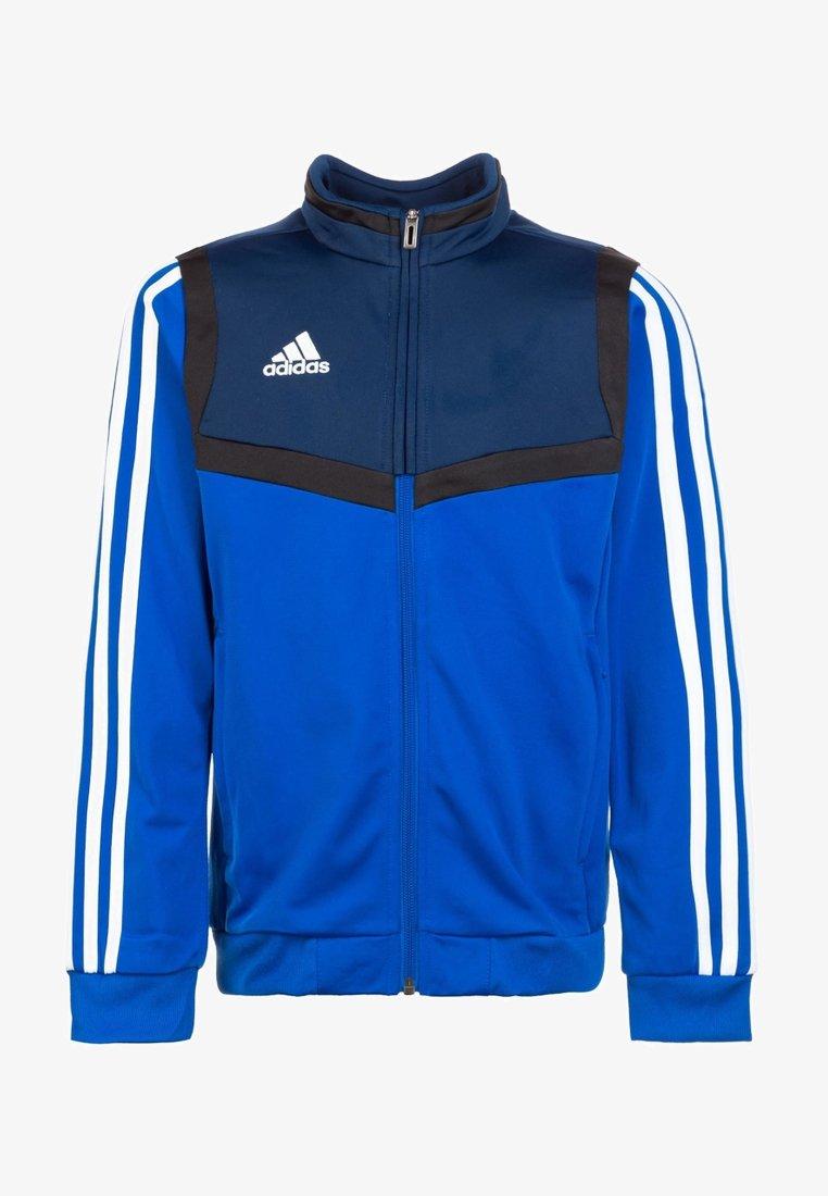 adidas Performance - TIRO 19 POLYESTER TRACK TOP - Giacca sportiva - bold blue / white