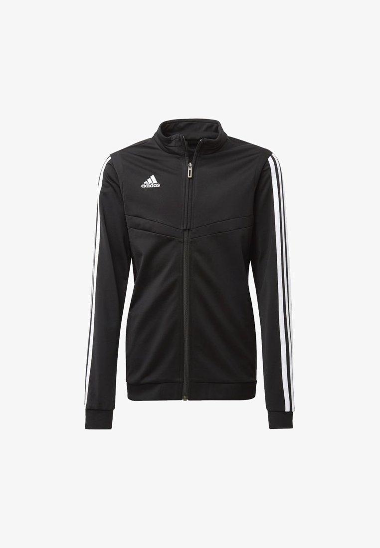adidas Performance - TIRO 19 POLYESTER TRACK TOP - Training jacket - black