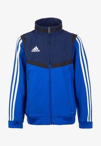 adidas Performance - TIRO 19 PRESENTATION TRACK TOP - Training jacket - bold blue/dark blue/white - 0