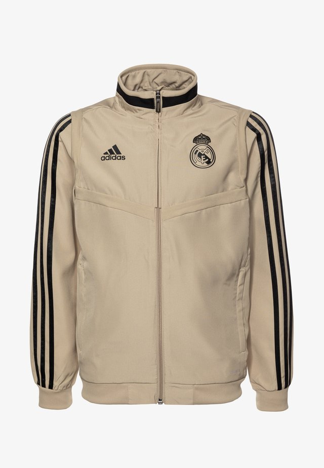 REAL MADRID - Pelipaita - raw gold/black