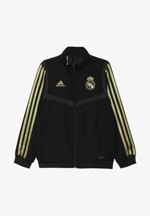 REAL MADRID - Article de supporter - black/dark gold