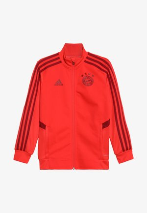 FC BAYERN MÜNCHEN TR JKT Y - Trainingsvest - bright red/active maroon