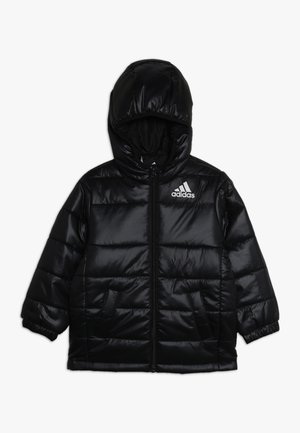 PADDED - Winter jacket - black/white