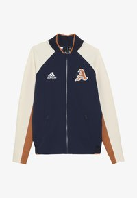 adidas Performance - VRCT CITY - Träningsjacka - collegiate navy/linen/tech copper - 3