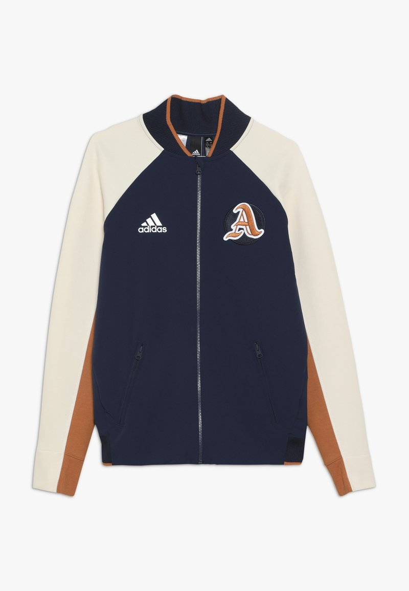 adidas Performance - VRCT CITY - Träningsjacka - collegiate navy/linen/tech copper