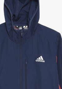 adidas Performance - RUN - Veste coupe-vent - tech indigo/vivid red/silver