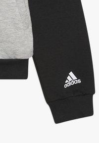 adidas Performance - Sportovní bunda - medium grey heather/black - 4
