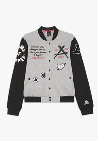 adidas Performance - Sportovní bunda - medium grey heather/black - 0