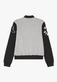adidas Performance - Sportovní bunda - medium grey heather/black - 1