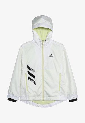 Training jacket - white/yeltin/black