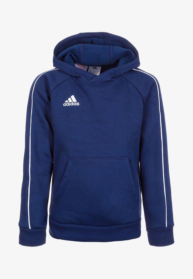 adidas Performance - CORE - Hoodie - dark blue/white