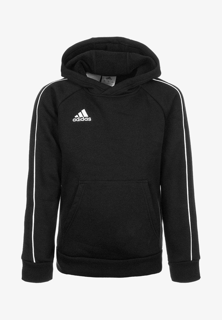 adidas Performance - CORE - Hoodie - black/white