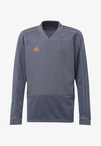 adidas Performance - CONDIVO 18 PLAYER FOCUS TRAINING TOP - Sweatshirt - onyx/orange - 0