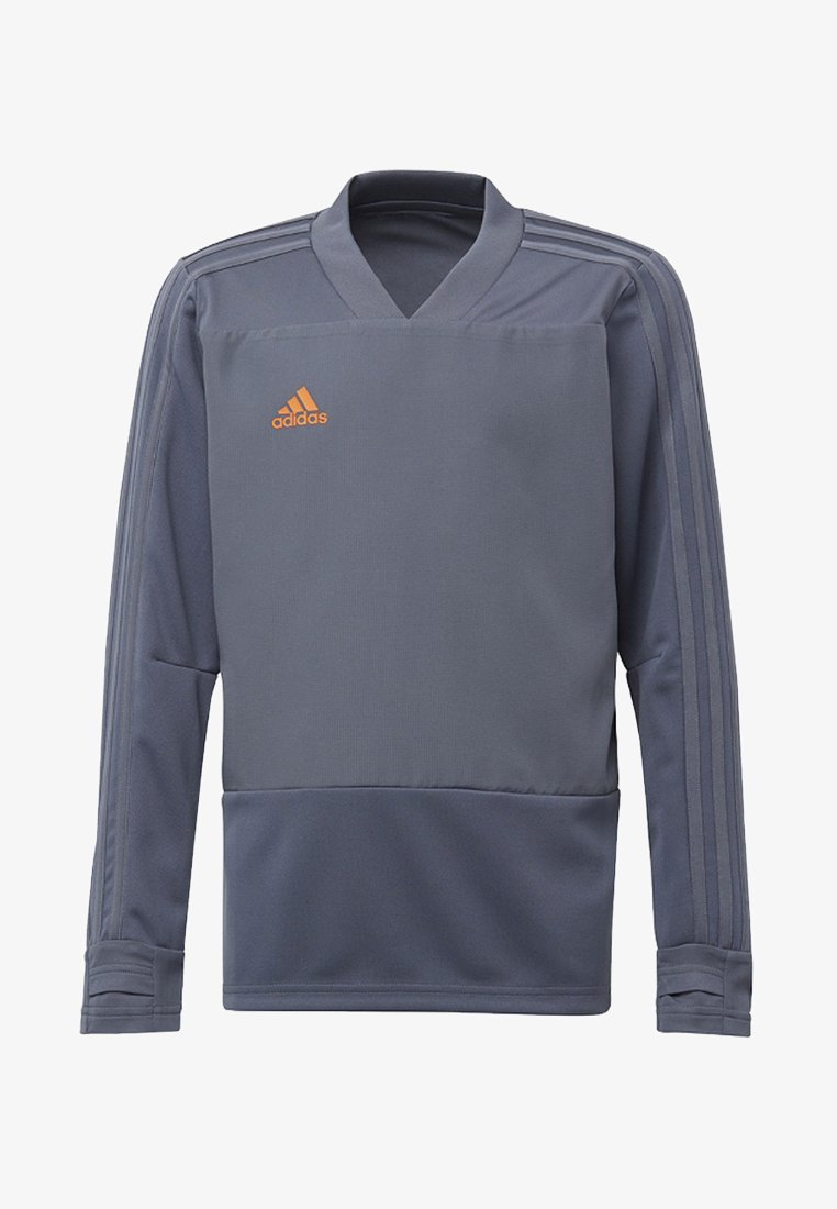 adidas Performance - CONDIVO 18 PLAYER FOCUS TRAINING TOP - Sweatshirt - onyx/orange