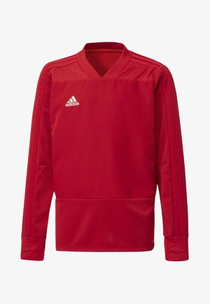 CONDIVO 18 PLAYER FOCUS TRAINING TOP - Sweatshirt - power red/white