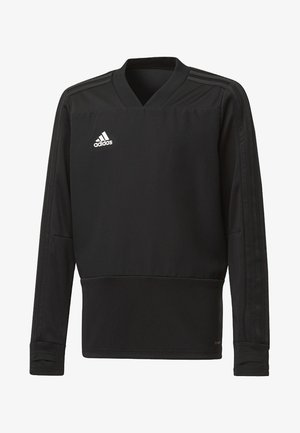 CONDIVO 18 PLAYER FOCUS TRAINING TOP - Sweatshirt - black/white