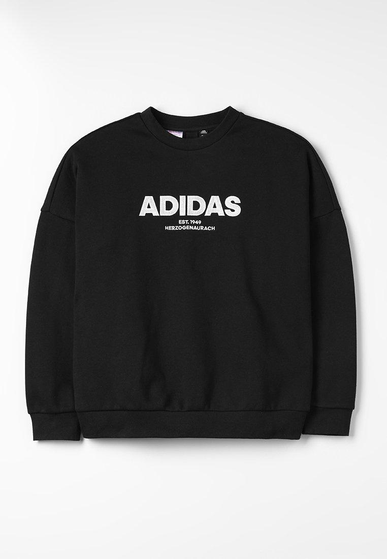 adidas Performance - ALLCAP CREW - Sweatshirt - black/white