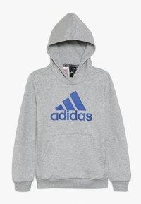 adidas Performance - BOS - Jersey con capucha - medium grey heather/collegiate royal - 0